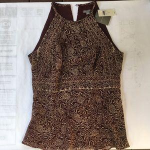 Ann Taylor dressy sleeveless top